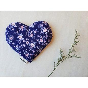 Amma Thérapie Amma Thérapie - Coussin Réconfort Coeur pour Bébé, Romance