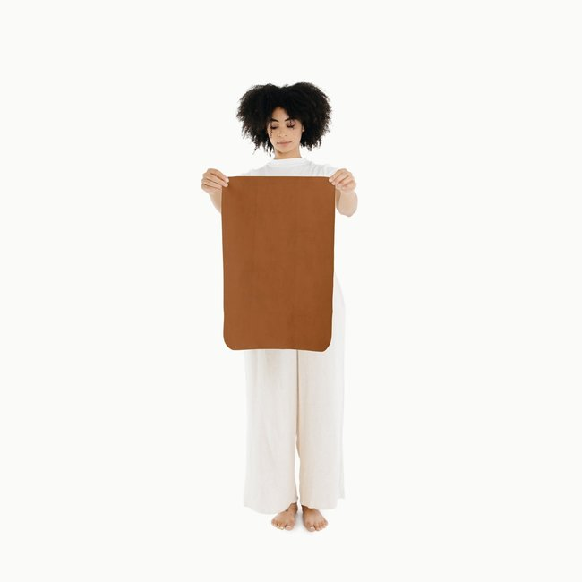 Gathre Gathre - Micro Multifunctional Leather Mat, Ginger