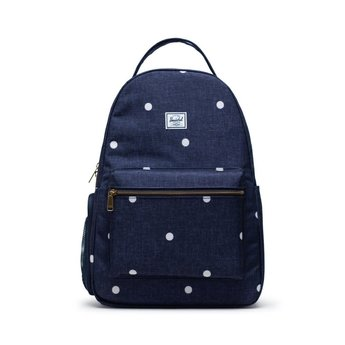 Herschel Herschel - Settlement Sprout Diaper Backpack, Polka Dot Peacoat