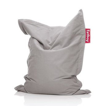 Fatboy Fatboy - Cotton Junior Beanbag, Silver Grey