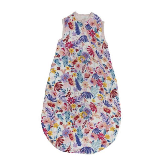 Loulou Lollipop Loulou Lollipop - Bamboo Muslin Sleep Bag, Light Field Flowers