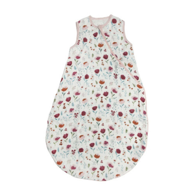 Loulou Lollipop Loulou Lollipop - Bamboo Muslin Sleep Bag, Rosey Bloom