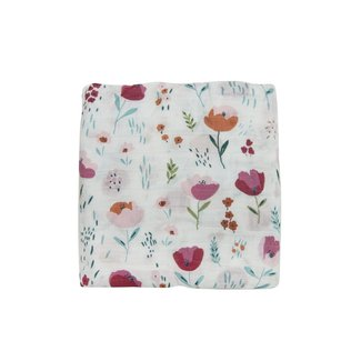 Loulou Lollipop Loulou Lollipop - Bamboo Fitted Crib Sheet, Rosey Bloom