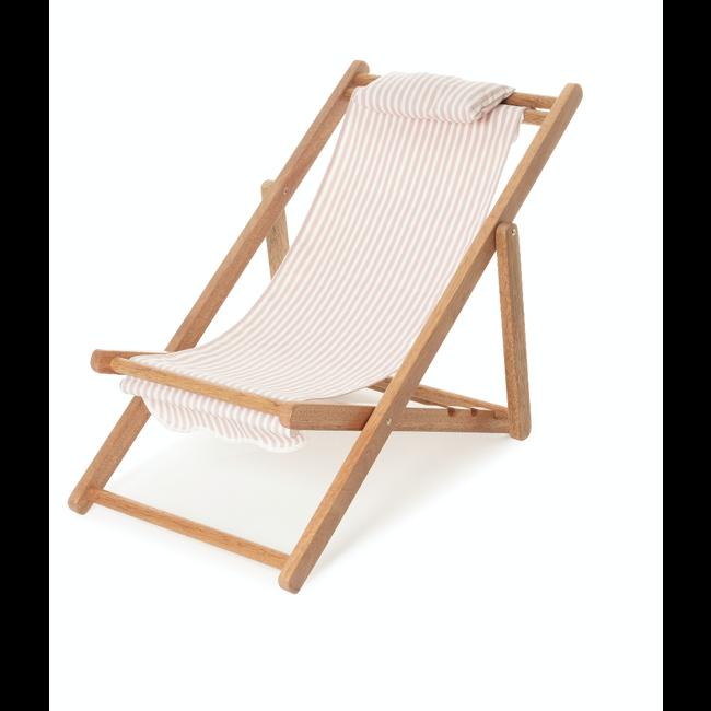 Business & Pleasure Co. Business & Pleasure Co - Mini Sling Chair, Pink Stripe