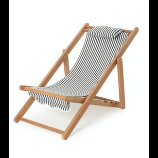 Business & Pleasure Co. Business & Pleasure Co - Mini Sling Chair, Navy Stripe