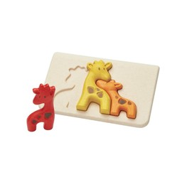 Plan toys Plan Toys - Wooden Puzzle, Giraffe