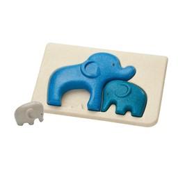 Plan toys Plan Toys - Wooden Puzzle, Elephant
