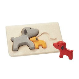 Plan toys Plan Toys - Wooden Puzzle, Dog