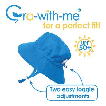 Jan & Jul Jan & Jul - Grow With Me Aqua Dry Bucket Sun Hat, Navy