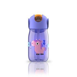 Zoku Zoku - Flip Straw Bottle, Purple