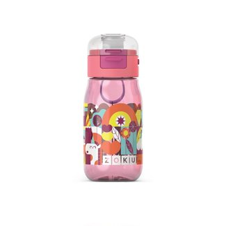 Zoku Zoku - Flip Gulp Bottle, Pink