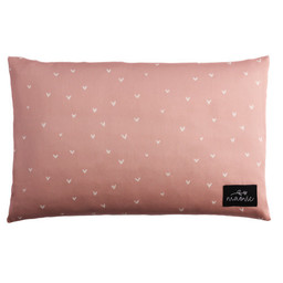 Maovic Maovic - Buckwheat Pillow, Hearts Pink