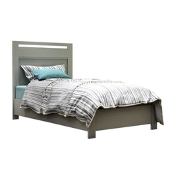 Natart Juvenile Nest Milano - Twin Bed, Grey Elephant
