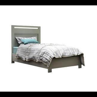 Natart Juvenile DEMO SALE - Nest Milano - Twin Bed, Grey Elephant