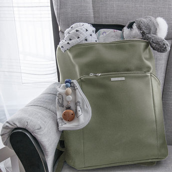 Kanevas Kanevas - 2.0 Diaper Bag Charlotte, Olive