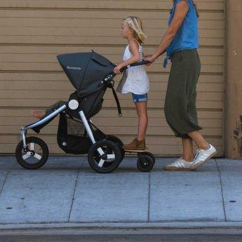 Bumbleride Bumbleride - Planche à Roulettes pour Poussette Indie Simple ou Double/Mini Board Indie for Single or Twin Stroller
