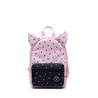 Parkland Parkland - Little Monster Backpack, Polka Dots Quartz