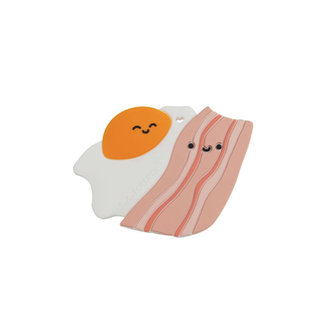 Loulou Lollipop Loulou Lollipop - Teether, Bacon and Egg