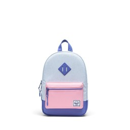 Herschel Herschel - Heritage Kids Backpack, Blue Pastel Candy Pink