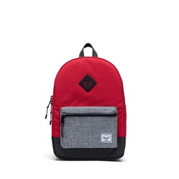 Herschel Herschel - Heritage Youth Backpack, Red Grey Black