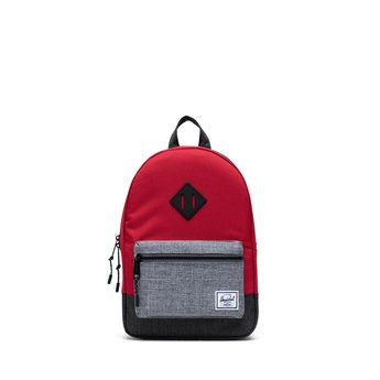 Herschel Herschel - Heritage Kids Backpack, Red Grey Black