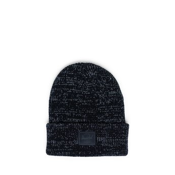 Herschel Herschel - Abbott Beanie Youth, Black Reflective, One Size