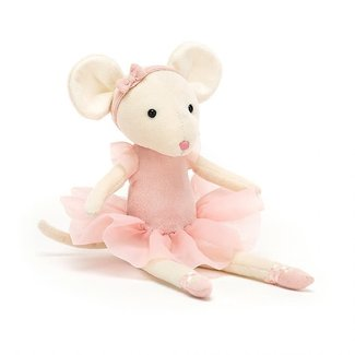 """Jellycat Jellycat - Pirouette Mouse, Candy 11"""""""