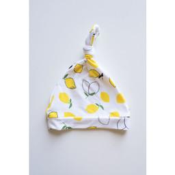 Bambi & Birdie Pajama Co. Bambi & Birdie - Chapeau à Noeud, Citron