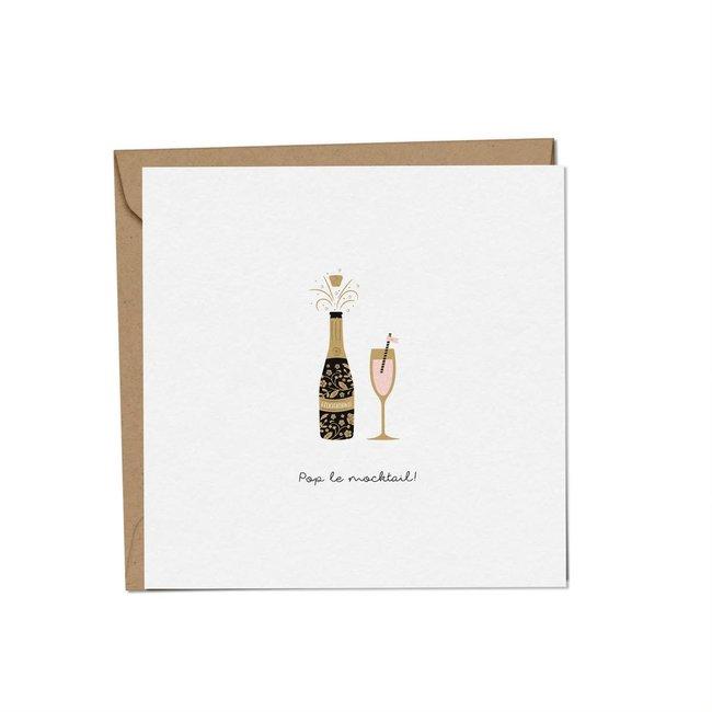 Mimosa Design Mimosa Design - Carte de Souhaits, Pop le Mocktail, Exclusivité Charlotte et Charlie