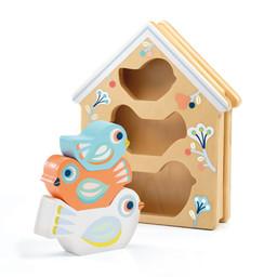 Djeco Djeco - BabyBirdi Wooden Shape Game