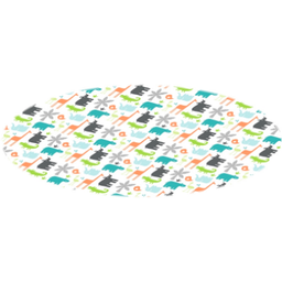 Kushies Kushies - Cleanmat Protective Floor Mat, Jungle
