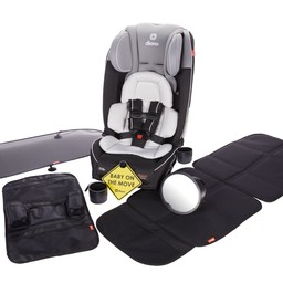 Diono Diono - Hybrid Radian 3 RXT Car Seat Bundle, Grey Limited Edition