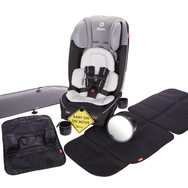 Diono Diono - Hybrid Radian 3 RXT Car Seat Bundle, Grey Limited Edition