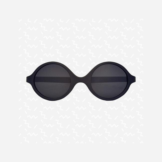 KI ET LA Ki ET LA - Diabola 2.0 Sunglasses, Black, 0-1 year