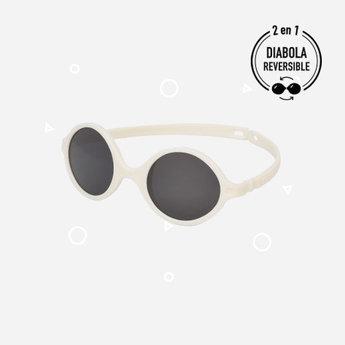 KI ET LA Ki ET LA - Diabola 2.0 Sunglasses, White, 0-1 year