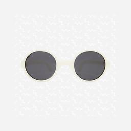 KI ET LA Ki ET LA - Rozz Sunglasses, White, 1-2 years
