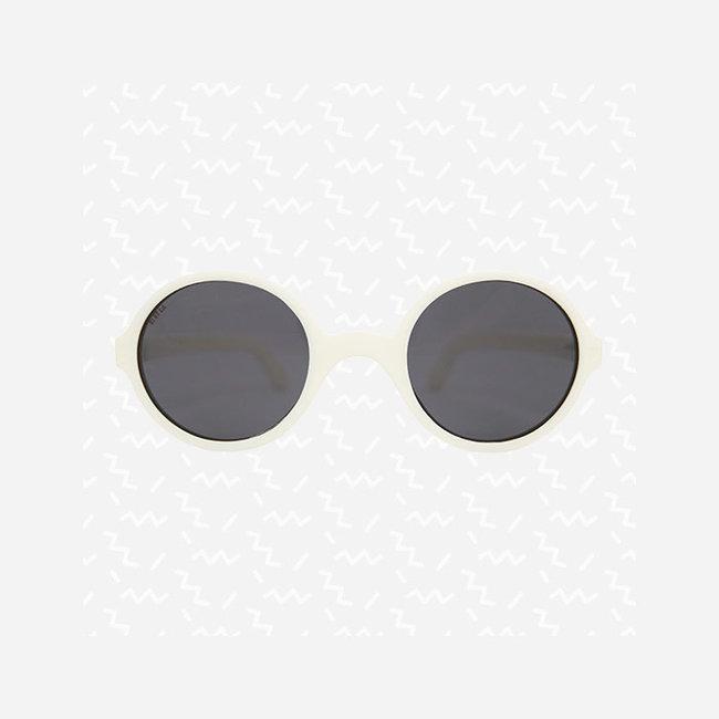 KI ET LA Ki ET LA - Rozz Sunglasses, White, 2-4 years