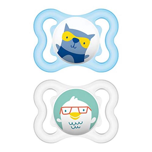 MAM MAM- Mini Air Pacifier, Blue, 0-6 months