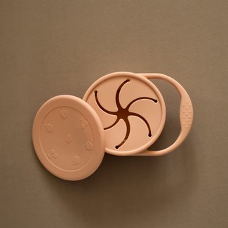 Minika Minika - Silicone Snack Bowl, Blush