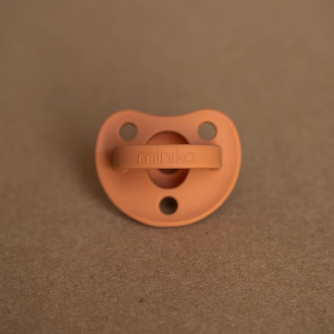 Minika Minika - Silicone Pacifier, Ginger