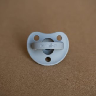 Minika Minika - Silicone Pacifier, Stone