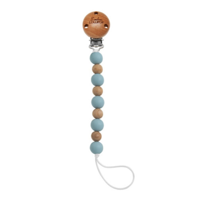 Loulou Lollipop Loulou Lollipop - Celeste Pacifier Clip, Starlight