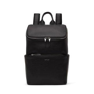 Matt&Nat Matt & Nat - Brave Backpack, Black Shiny Nickel