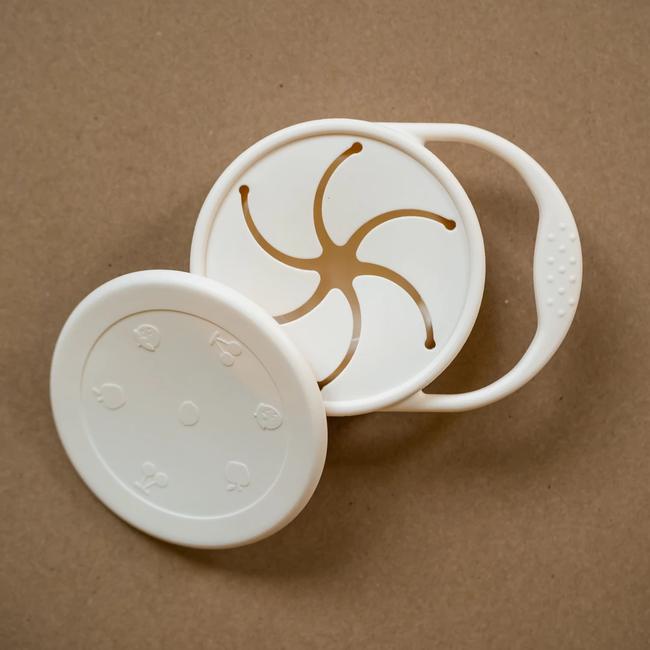 Minika Minika - Bol à Collation en Silicone, Coquillage