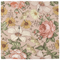 The Mini Scout The Mini Scout - Cotton Muslin Swaddle, Garden Rose