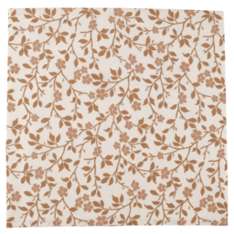 The Mini Scout The Mini Scout - Cotton Muslin Swaddle, Magnolia Tree Brown