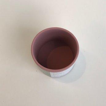 Pois et Moi Pois et Moi - Silicone Cup, Raspberry