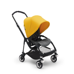 Bugaboo Bugaboo Bee5 - Complete Stroller Set, Black-Grey-Yellow