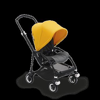 Bugaboo Bugaboo Bee5 - Complete Stroller Set, Black-Grey-Yellow
