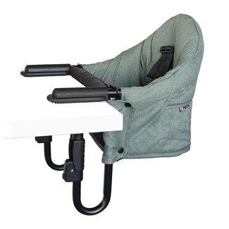Guzzie + Guss Guzzie + Guss - Perch Clip On Chair, Green Forest